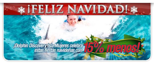 promociones_navidad_dolphin_discovery_isla_mujeres