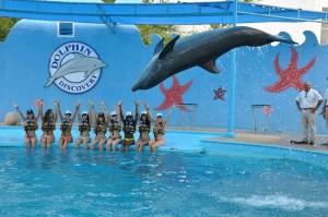 Los Ángeles de Victoria's Secret visitan Aquaventuras Park.